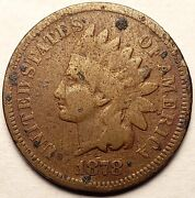 1878 Indian Head Penny Cent Good Condition Mc_307