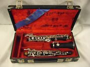 Linton Zrl Lintone Pro Full Conservatory Brushed Resin Oboe Left Hand F Rare