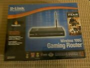 D-link Wireless 108g Gaming Router Dgl-4300+usb/pci 006