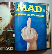Frank Jacobsand039 Bound Volume Of Mad Magazines 149-166 - Personally Annotated