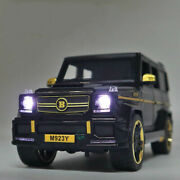 Brabus G65 Suv Toy Cars Model Scale 124 Off-load Vehicle Mercedes Benz
