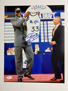 Shaquille Oandrsquoneal Autographed 11x14 Photo Los Angeles Lakers Jsa Witnessed
