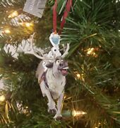 Disney Parks Frozen Olaf And Sven Snowgies Figural Christmas Ornament