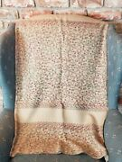 Soft Woolen Embroidered Shawl/ Wrap Sale Clearance Christmas Gift