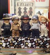 Buddy Lee Doll Plush Doll Limited Edition Lot Complete 5 Set 33cm From Japan F/s