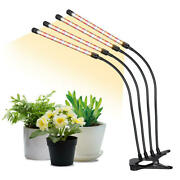Grow Light Lamp Spectrum Plant Light W/ Upgraded 4 Arms For Indoor Plants