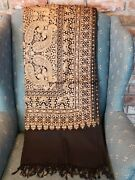 Formal Pashmina Embroidered Shawl/ Wrap Sale Clearance Christmas Gift