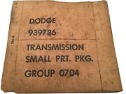 Wc Dodge 51 56 Military Truck Transmission Small Parts Kit Nos