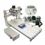 Diy Cnc Router 3060 Metal Mini Cnc Milling Machine 3-5 Axis For Pcb Wood Carving