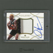 2012/13 Panini Immaculate Premium Patches Patch Auto Dennis Rodman 15/50