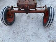 Allis Chalmers Wd 45 Wd45 Ac Tractor 3-bolt Wide Frontend Widefront W/ Hubs Only
