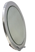 And Co. Art Deco Sterling Silver Table Mirror/ Platter In Art Deco Style