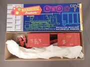 Ho Scale Roundhouse Ggyvandn Gulch Rout O/b Box Car Kit