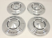 1961-62 Chevy Fullsize Poverty Hubcap Set