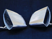 2 Vintage Custom Accessory Side Mirrors Chevy Ford Dodge Rat Rod Hot Rod
