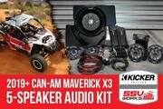 Ssv Works 5 Speaker Plug-and-play Kit For Can-am Maverick X3 2019+