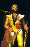 Earth Wind And Fire And Andrew Woolfolk 1982 Old Music Photo 1