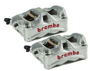 Bmw S1000r Brembo Stylema Radial Brake Caliper Kit 100mm With Pads 220d02010