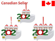 2020 Xmas Christmas Hanging Ornaments Personalized - Lot Of 50