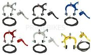 Original Bicycle Mx Alloy Front And Rear Brake Used For Bmx Bikes All Colors
