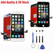 For Iphone 7 8 Plus Lcd Digitizer Touch Screen Replacement Full Assembly+camera