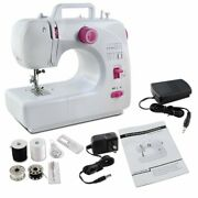 Portable Desktop Electric Household Sewing Machine16 Built-in Stitches 2 Speeds
