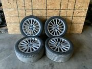 Bmw 11-16 F10 F06 F13 18 Style 237 Rims Wheels Rim Wheel W/ Tires Set Oem 105k