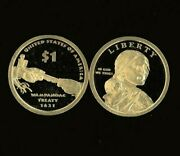 2011 Native American S Proof Sacagawea Golden Dollar Uncirculated From Mint Sets