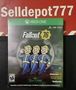 Fallout 76 Steelbook And Controller Skin Edition Microsoft Xbox One, 2018 New