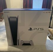Playstation 5 Ps5 Disc Version. Brand New. Free Overnight Shipping