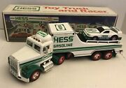 Hess Toy Truck And Racer 1991 Gas Station Collectible Boxed Used H
