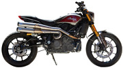 1810-2681 Sands Full Exhaust 2 Into 2 For Indian Ftr 1200