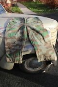 Ww2 German Wehrmacht Splinter Camouflage Trousers Late War Time Made Easter Sale