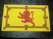 Wwi Scotland Royal Banner Rampant Lion King Of Scots Scottish Coat Of Arms Flag