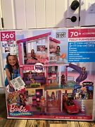 ​ Barbie Dreamhouse Dollhouse With Pool Slide And Elevator