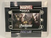 Stan Lee Signed Framed 16x20 Avengers Imax Midnight Pre. Exclusive Black Widow
