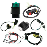50cc 70cc 90cc 110cc 125cc Wiring Harness Loom Solenoid Coil Rectifier Cdi For A