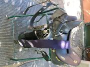 Cavalry Saddle. Condition Is Used With Breastplate Cinch And Wool Saddle Pad