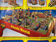 Puzzle World By Melissa And Doug Table And Puzzle Sets Lots