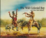 Art , The Wild Colonial Boy Illus By Max Mannix , Signed By Artist