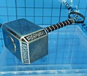 Hot Toys 16 Mms224 The Dark World Thor Figure - Metal Mjolnir With Strap
