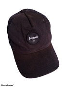 Vintage Supreme Trucker Black Hat Cap Patches Net Made In Usa Authentic Og