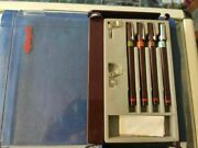 Rotring Rapidograph Pen Set Of Four Pens New
