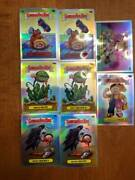 Garbage Pail Kids 2020 Chrome Refractor Insert Sp Lot Of 8