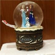 Disney Store Frozen Snowglobe Snowdome With Music Box Let It Go Overseas Limited