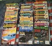 2002 To 2005 Lot Of 31 Hot Wheels Toy Cars And Models Magazines Model Kits Figures