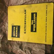 Caterpillar Cat 966 Traxcavator Tractor Service Manual S/n 75a1-up