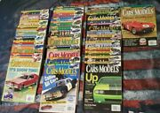 2005 To 2008 Lot Of 36 Hot Wheels Toy Cars And Models Model Kits Figures Magazines
