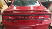 2011-2014 Dodge Charger Trunk/hatch/tailgate Rt W/spoiler Red 2306008