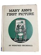 Mary Annand039s First Picture By Winifred Bromhall 1948 Hardcover Exlib Good